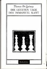 Die letzten Tage des Immanuel Kant